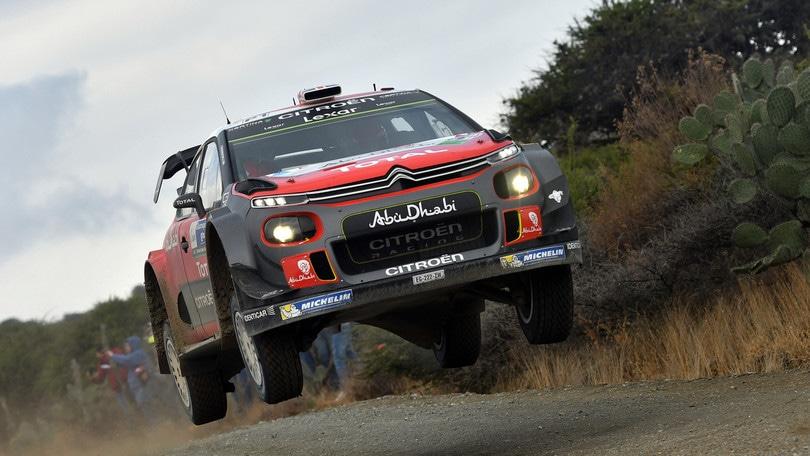 Rally del Messico, vince Meeke