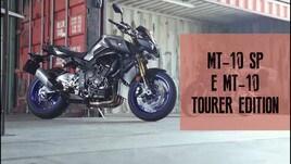 Yamaha MT-10 SP e Tourer Edition: emozioni in stile YZF-R1