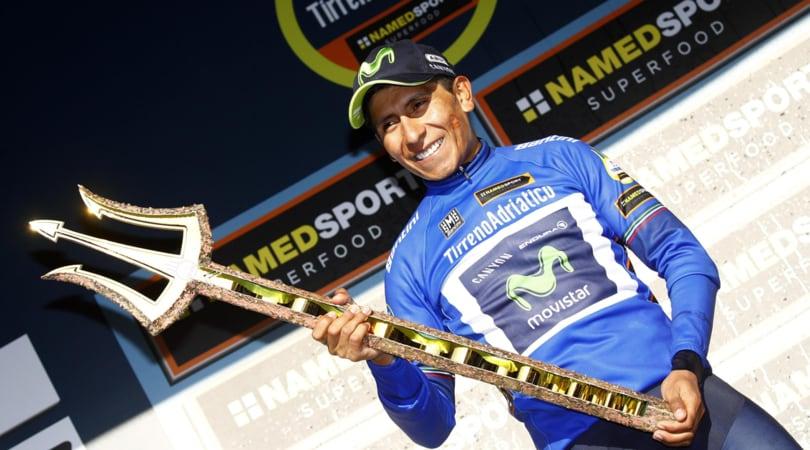 Ciclismo, Tirreno-Adriatico: trionfa Quintana, cronometro a Dennis