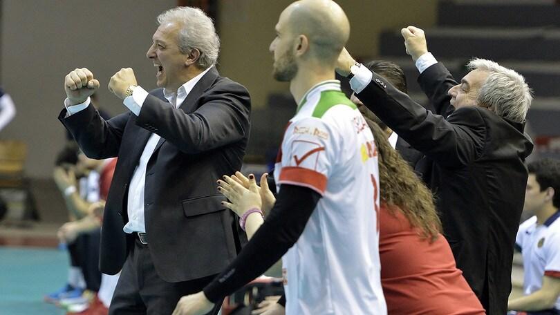 Volley: A2 Maschile Pool Promozione, Reggio batte Tuscania e l'aggancia in classifica