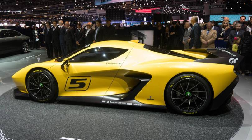 Fittipaldi EF7, la supercar da campioni di F1