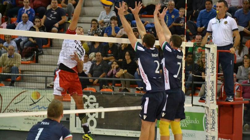 Volley: A2 Maschile Pool Salvezza, domani l'anticipo Ortona-Brescia