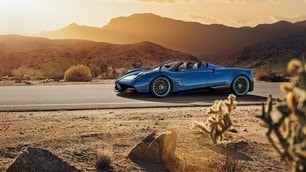 Pagani Huayra Roadster, sogno scoperto: foto