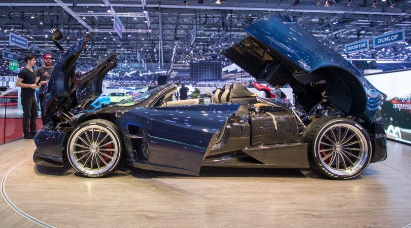 Pagani Huayra Roadster, bella scoperta da 2,8 milioni