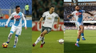 Napoli, ecco il 4-3-3 di Sarri con Ibrahimovic