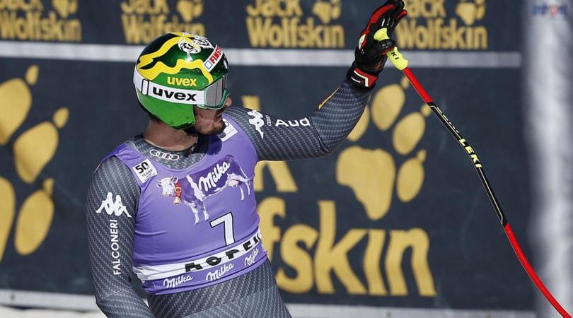 Sci, Italia da record: Paris secondo nel SuperG di Aspen