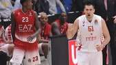 Basket Eurolega, Kuzmic punisce Milano