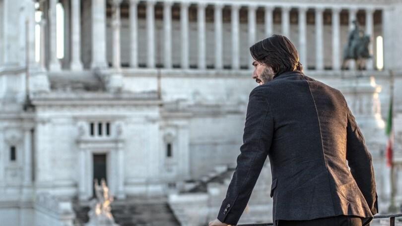 John Wick-Capitolo 2 in azione a Roma