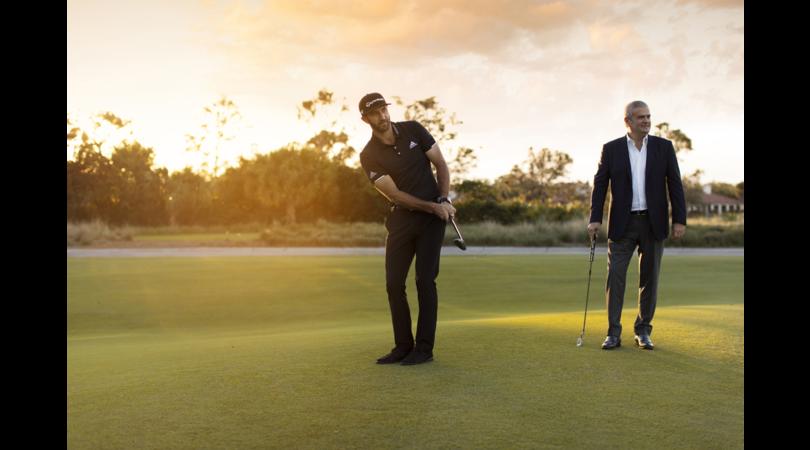 Il numero uno al mondo del golf Dustin Johnson per Hublot