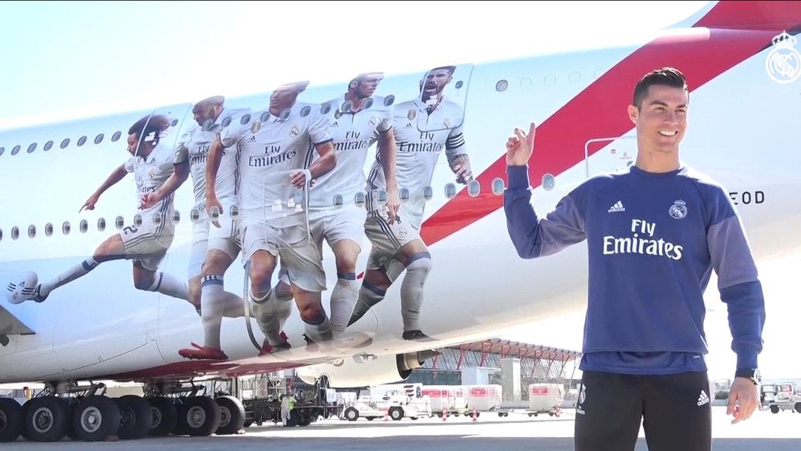 Aereo Privato Real Madrid : Real madrid nel nuovo aereo c è una spa per ronaldo