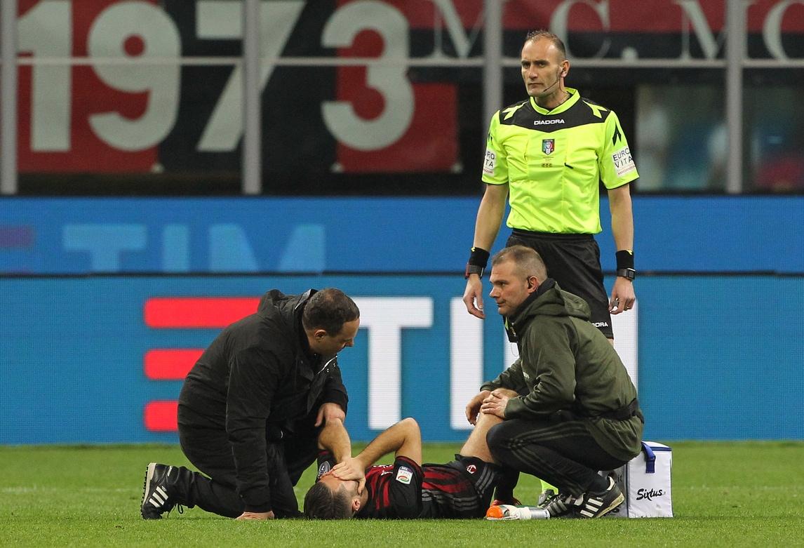 Bertolacci, infortunio record: ko in meno di un minuto