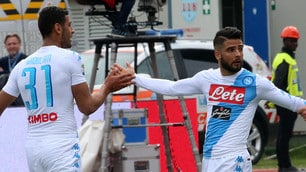 Empoli-Napoli 2-3: per Insigne doppietta e dab dance