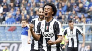 Sampdoria-Juventus 0-1: Cuadrado decide il match