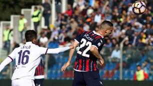 Crotone-Fiorentina 0-1: Kalinic decide il match