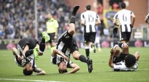 Sampdoria-Juventus: le immagini della partita