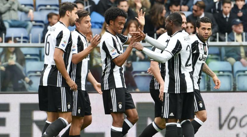 Serie A Sampdoria-Juventus 0-1. Decide il gol di Cuadrado. Si ferma Dybala