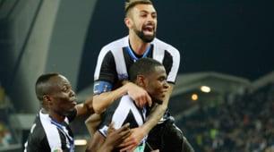 Serie A: Udinese-Palermo 4-1, le immagini della sconfitta rosanero
