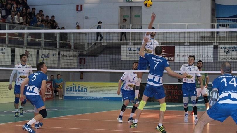 Volley: A2 Maschile, Pool Promozione, Civita Castellana spegne i sogni di Santa Croce