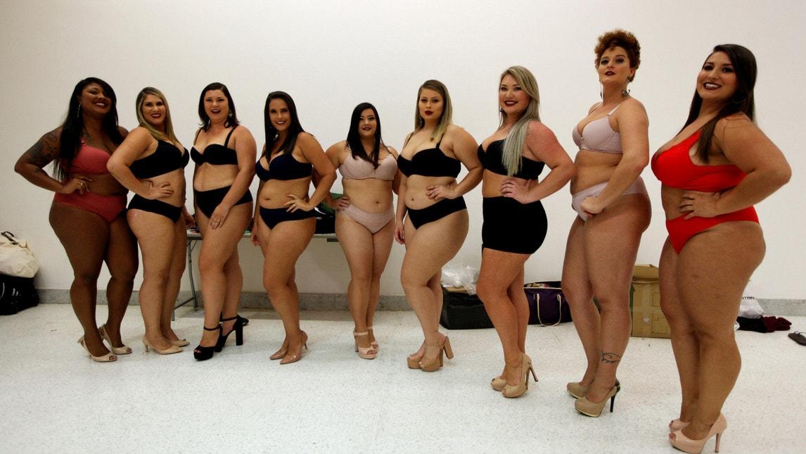 Costumi Da Bagno Taglie Forti : Leslady bikini con slip a vita alta taglie forti costume da bagno