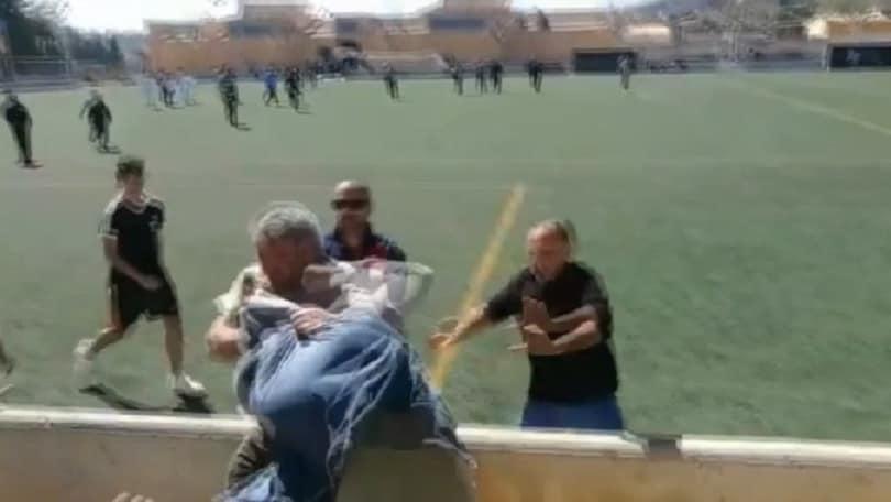 Spagna, rissa tra genitori durante una partita dei giovanissimi