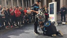 Motomondiale 2017, la Sky Racing Team VR46 montata a Milano