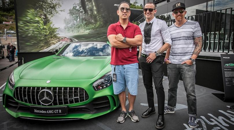 "Mercedes AMG GT sempre più ""heavy"" coi Linkin Park"