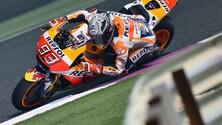 MotoGp Honda, Marquez: «Lotteremo per il podio»