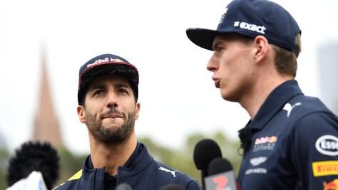 F1, Ricciardo: «La Red Bull è più veloce del 2016»