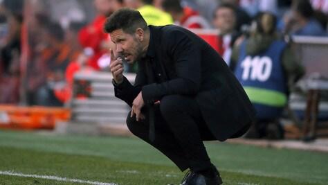 Simeone: «Il mio futuro? Mi vedo ancora all'Atletico Madrid»