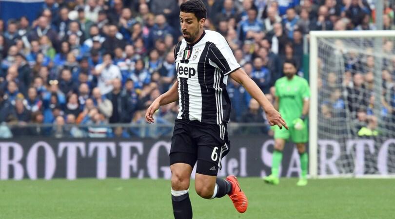 Juventus, Khedira si ferma: niente amichevole con l'Inghilterra