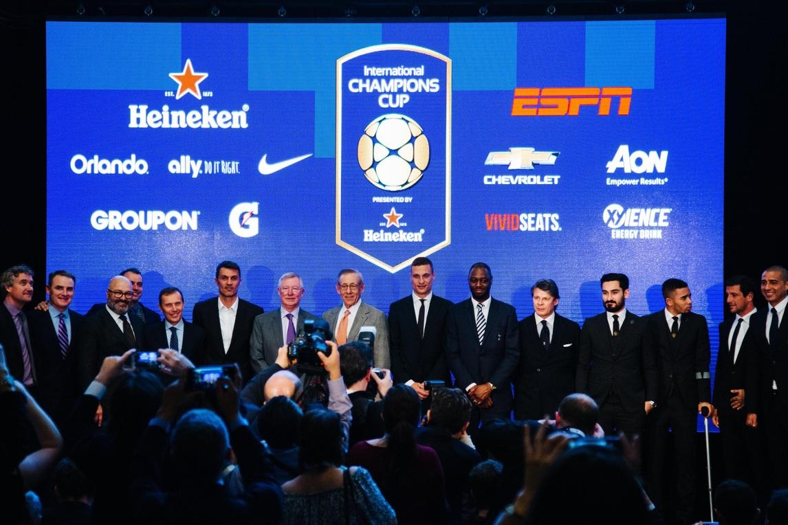 A Mediaset Premium l'International Champions Cup