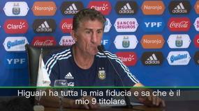 """Bauza: """"Higuain è il mio 9 titolare"""""""