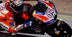 MotoGp Qatar, Dovizioso: «Punto al podio»