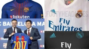 Nuova maglia 2017/2018: è sfida Barcellona-Real Madrid