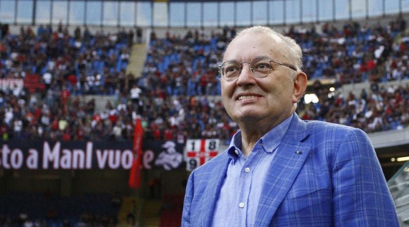 Squinzi, minuto di silenzio sui campi di A: il Sassuolo chiede rinvio della partita