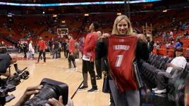 La Kerber portafortuna dei Miami Heat