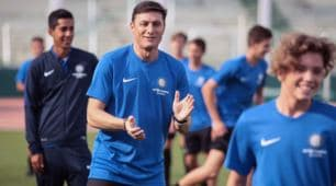 Zanetti inaugura l'Inter Academy Cordoba