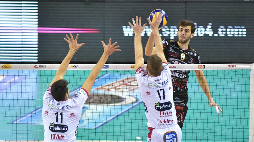 Volley: Play Off Scudetto, sabato Perugia-Trento, domenica Modena-Civitanova