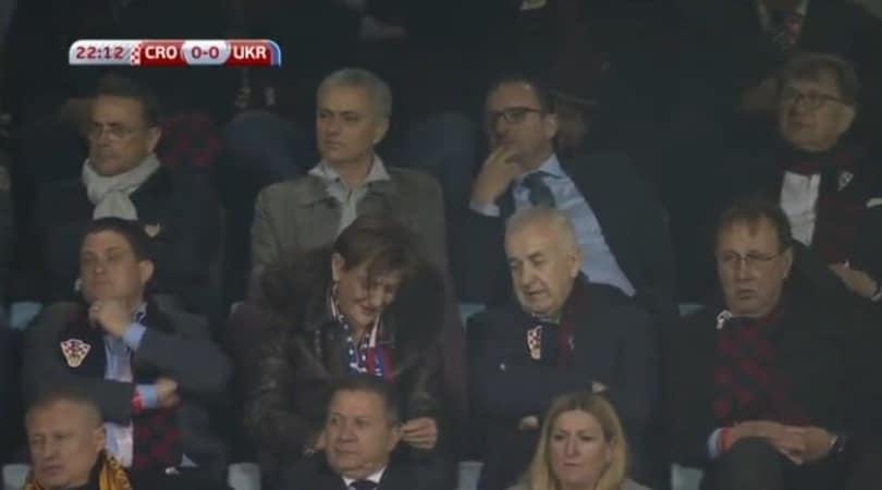 Manchester United, Mourinho vola a Zagabria per Perisic