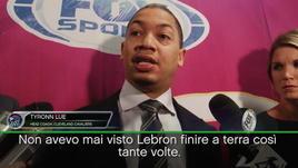 """Cleveland, Lue: """"Un LeBron mai visto"""""""