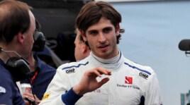 Antonio Giovinazzi, il debutto in Formula 1: foto