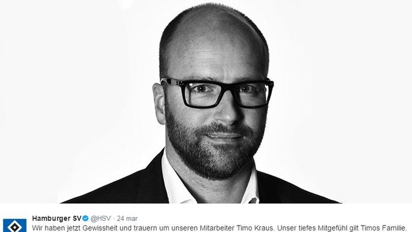 Amburgo, trovato morto il direttore del marketing