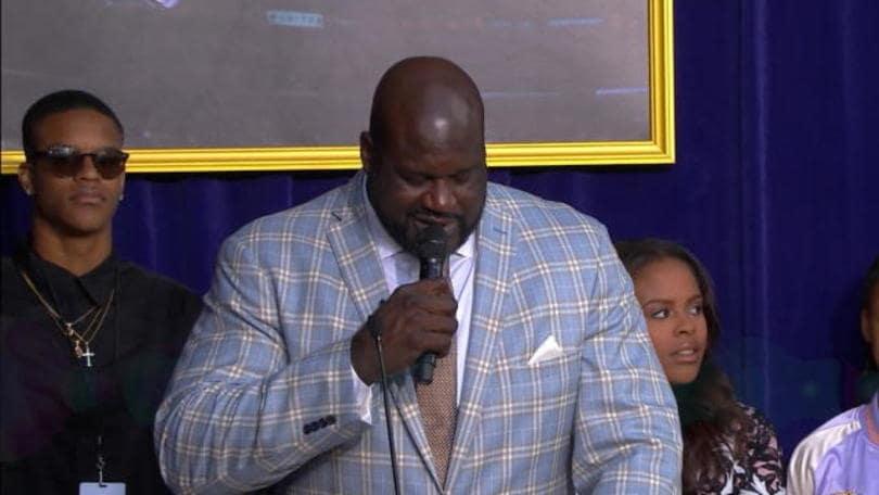 """Shaq a Bryant: """"Grazie per gli anelli NBA"""""""