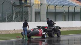 Gp Qatar, qualifiche annullate: troppa pioggia sulla pista di Losail