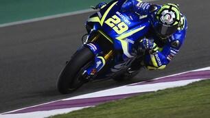 MotoGp Qatar, Iannone: «Contento di essere in prima fila»