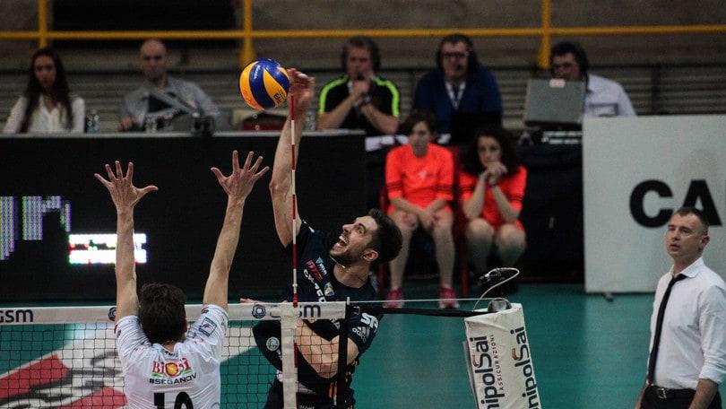 Volley: Play Off 5° posto: Verona la spunta ma solo al tie break