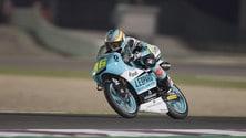 Moto3 Qatar, Mir svetta nel warm up