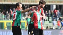 Inutile il gol di Ardemagni: Ternana-Avellino 4-1