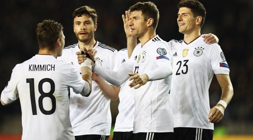 Qualificazioni Mondiali 2018, Germania e Inghilterra ok, la Repubblica Ceca ne fa 6 a San Marino