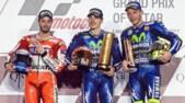 MotoGp Qatar, Rossi: «Non avrei scommesso sul podio»